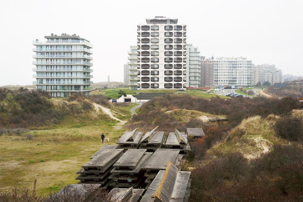 Sabine Niggemann, Die belgische Küste. Eine fragmentarische Annäherung, 2014-2015